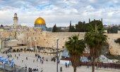 De westelijke muur in jeruzalem — Stockfoto