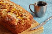 Mango tea bread with vanilla — Stockfoto
