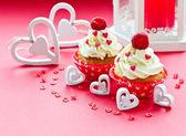 Saint Valentine's Day sweet food — Stock Photo