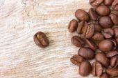 Coffee grains — Stock Photo