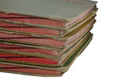 Stack of old  files  — Stock Photo