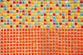 Square tiles in multiple colors — Stock Photo