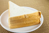 Some bread triangles — Stock Photo