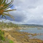 Laguna Beach California Coast after Winter Storm — Stock Photo #67295373