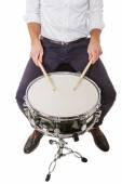 Teaching in the school drums — Stock Photo