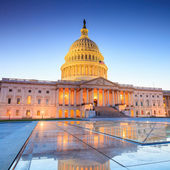 The United States Capitol building — Stock Photo