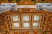Library of Congress, interior of the building, DC — Stock Photo