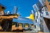 Ray and Maria Stata Center on the campus of MIT — Stock Photo