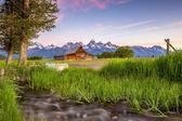 Grand Teton Mountains, Wyoming. — Stock Photo