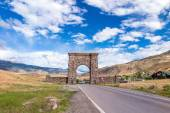 North Entrance to Yellowstone National Park — Stock Photo
