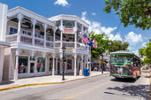 View of downtown Key West, Florida — Stock Photo