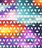 Abstract 3d background with crosses — Stock Vector