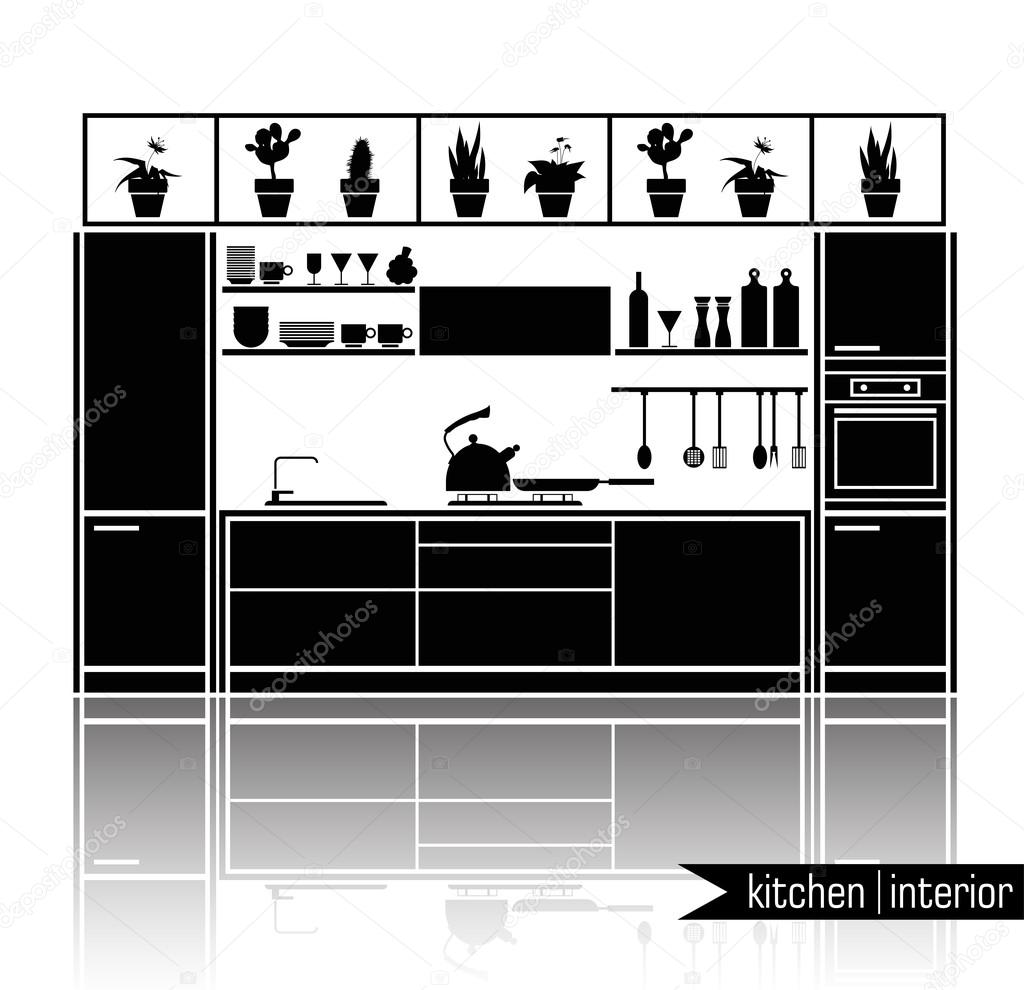 Kitchen Furniture Silhouette