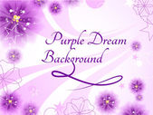 Purple Dream Background — Vettoriale Stock