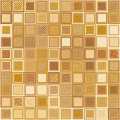Ladrillos de mosaico — Vector de stock