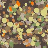Wektor wzór kolorowe koła — Wektor stockowy