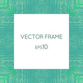 Vector frame with a texture of water — Stock Vector