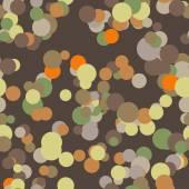 Modèle sans couture de vecteur de cercles colorés — Vecteur