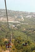 Black Sea cableway — Stockfoto