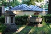 Necropolis in Alexander Nevsky Lavra — Stock fotografie