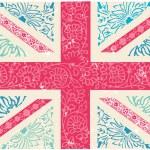 Union Jack  pattern — Stock Vector #64252365