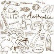 Collection of Australia icons — Stock Vector #64252539