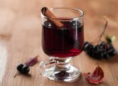 Mulled wine or tea — Stock Photo