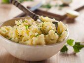 Mashed potatoes — Stock Photo