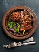 Delicious steak — Stock Photo