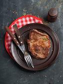 Delicious steak — Stockfoto