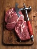 Raw fresh meat  — Stock Photo