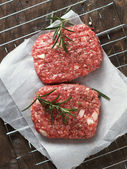 Fresh beef burger — Stockfoto