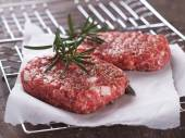 Fresh beef burger — Foto de Stock