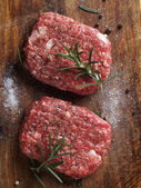 Fresh beef burger — Stock Photo