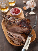 Roasted leg — Stock Photo