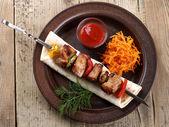 Kebabs — Stock Photo
