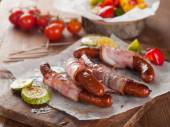 Grilled sausage — Stock Photo