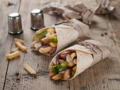 Tortilla wraps — Stock Photo