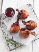 Grilled chicken leg  — Stock Photo
