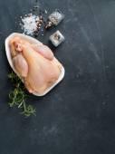 Fresh chicken — Stock Photo