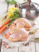Fresh chicken  — Stock Photo