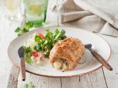 Stuffed chicken  breast — Stock Photo