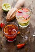 Different fresh cocktail — Stock Photo