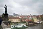 By the River in Prague — Stock Photo