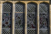 Stained- glass window — Foto Stock