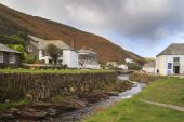 Boscastle North Cornwall — Foto de Stock