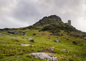 Brentor Church Dartmoor — Stock Photo
