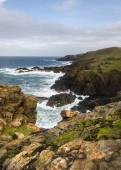 Historical coastline of cornwall — Stock Photo