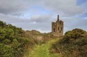 Levant tin Mine in cornwall UK — Stock Photo