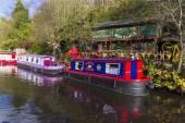 Living on a Barge — Stok fotoğraf